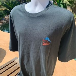"Tommy Bahama Shirts - Tommy Bahama Black ""Sand Lot"" SOFT T Shirt XLT"